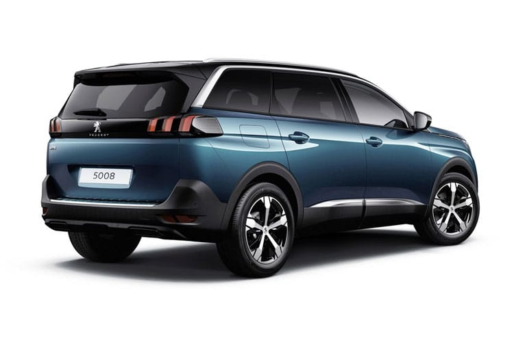 Peugeot 5008 SUV 1.2 PureTech 130PS Allure Premium 5Dr EAT8 [Start Stop] back view