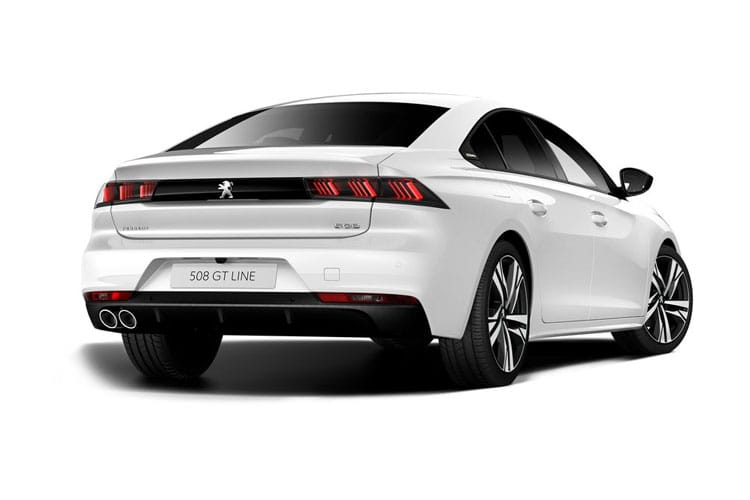 Peugeot 508 Fastback 1.2 PureTech 130PS Allure Premium 5Dr EAT8 [Start Stop] back view