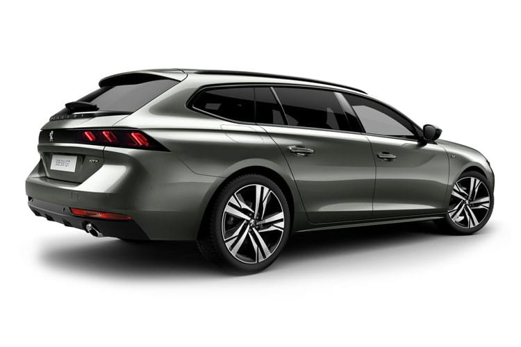 Peugeot 508 SW 5Dr HYBRID 1.6 PHEV 11.8kWh 225PS Allure Premium 5Dr e-EAT [Start Stop] back view
