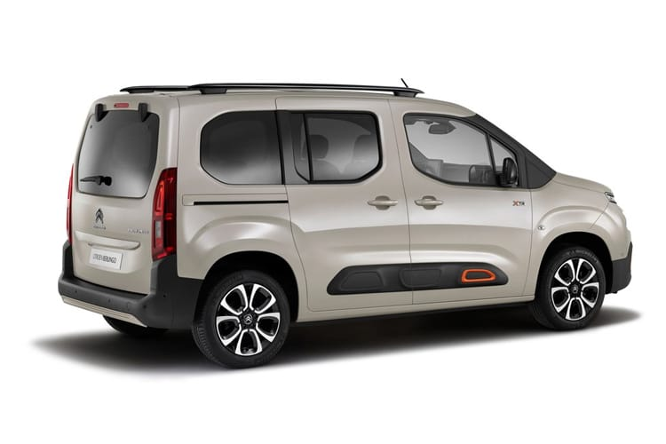 Citroen Berlingo XL MPV 1.2 PureTech 110PS Feel 5Dr Manual [Start Stop] back view
