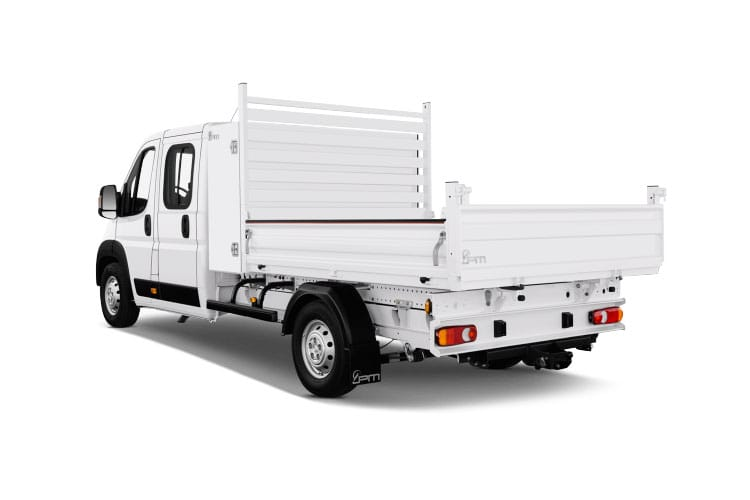 Peugeot Boxer 335 L2 2.2 BlueHDi FWD 140PS Built for Business Plus Tipper Manual [Start Stop] back view
