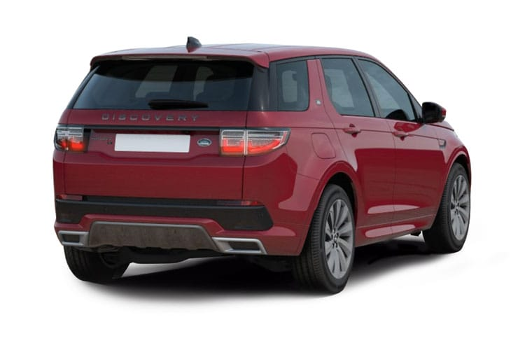 Land Rover Discovery Sport SUV 2.0 D MHEV 163PS  5Dr Auto [Start Stop] [7Seat] back view