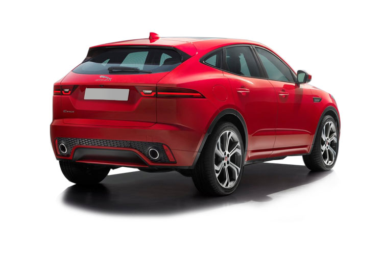 Jaguar E-PACE SUV AWD 2.0 d MHEV 204PS SE 5Dr Auto [Start Stop] back view