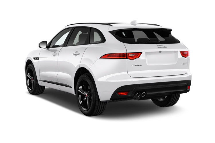 Jaguar F-PACE SUV AWD 2.0 P400e PHEV 17.1kWh 404PS SE 5Dr Auto [Start Stop] back view