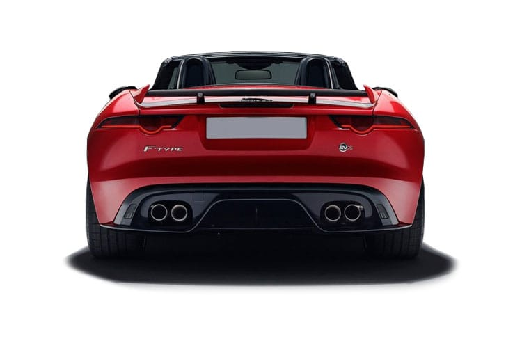 Jaguar F-TYPE Convertible AWD 5.0 V8 575PS Heritage 60 Edition 2Dr Auto [Start Stop] back view