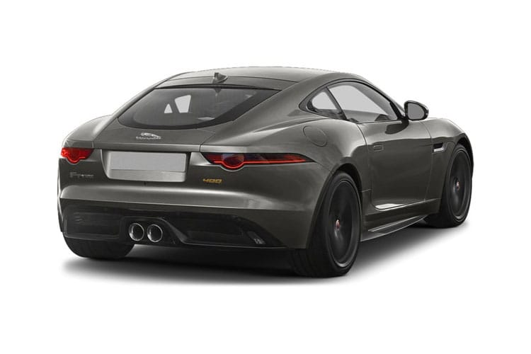 Jaguar F-TYPE Coupe AWD 5.0 V8 450PS First Edition 2Dr Auto [Start Stop] back view