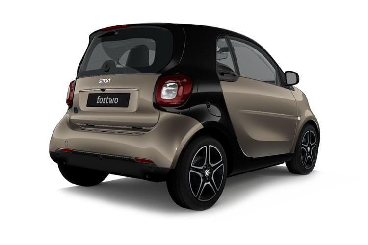 Smart ForTwo EQ ForTwo Coupe 2Dr Elec Drv 17.6kWh 60KW 82PS edition bluedawn 2Dr Auto [22kW Charger] back view