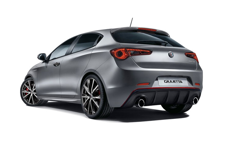 Alfa Romeo Giulietta Hatch 5Dr 1.6 JTDM-2 120PS Sprint 5Dr Manual [Start Stop] back view