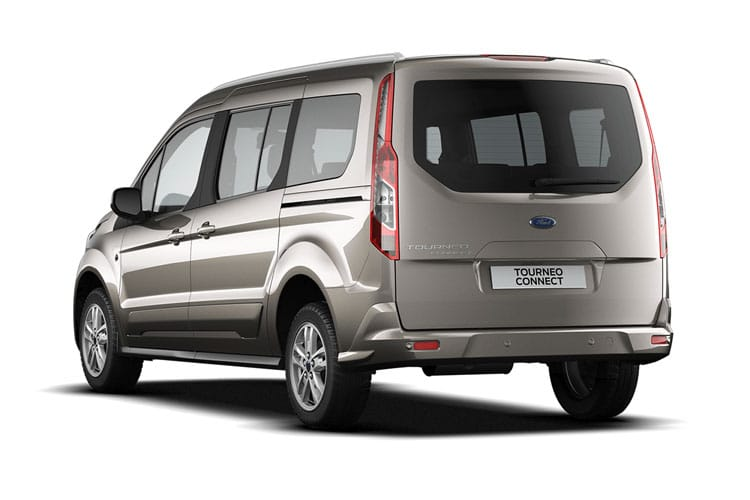 Ford Tourneo Connect Tourneo Connect M1 1.5 EcoBlue FWD 100PS Zetec MPV Auto [Start Stop] back view