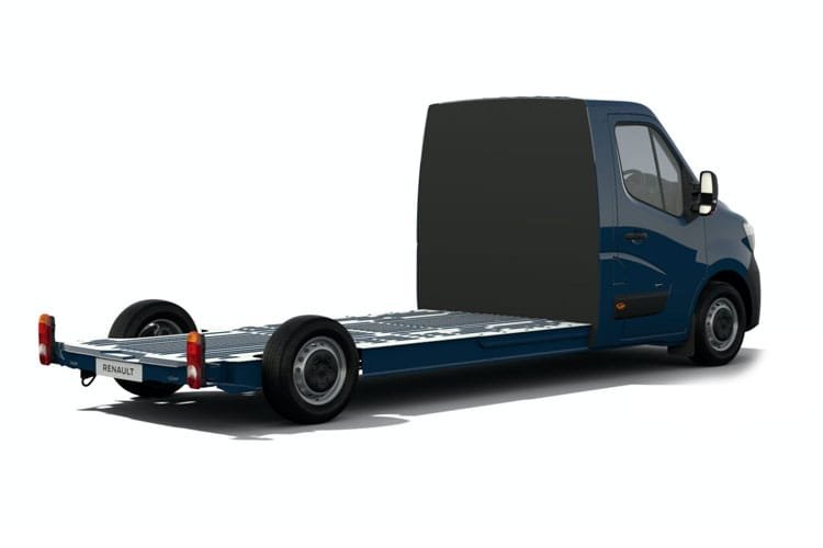 Renault Master MWBL 35TW 4X4 2.3 dCi ENERGY DR4 145PS Business Chassis Cab Manual [Start Stop] back view