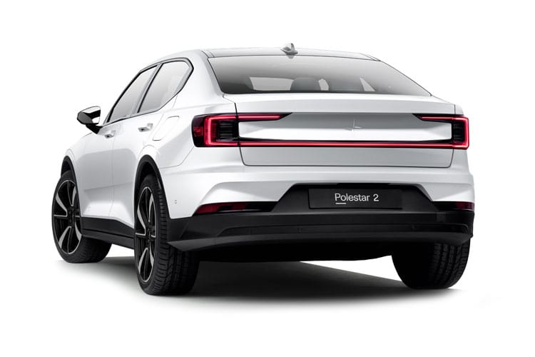 Polestar Polestar 2 Fastback 5Dr Dual Motor Elec 78kWh 300KW 408PS  5Dr Auto back view