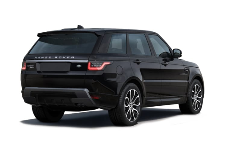 Land Rover Range Rover Sport SUV 5.0 P V8 575PS SVR 5Dr Auto [Start Stop] [5Seat] back view