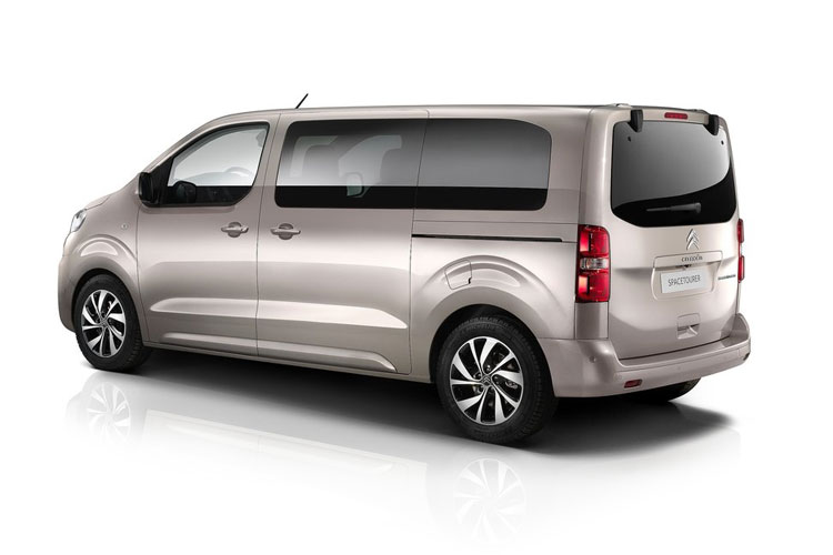 Citroen SpaceTourer XL 5Dr 1.5 BlueHDi FWD 120PS Feel MPV Manual [Start Stop] [8Seat] back view