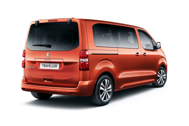 Peugeot Traveller Long 5Dr 2.0 BlueHDi FWD 180PS Allure MPV EAT [Start Stop] [8Seat] back view