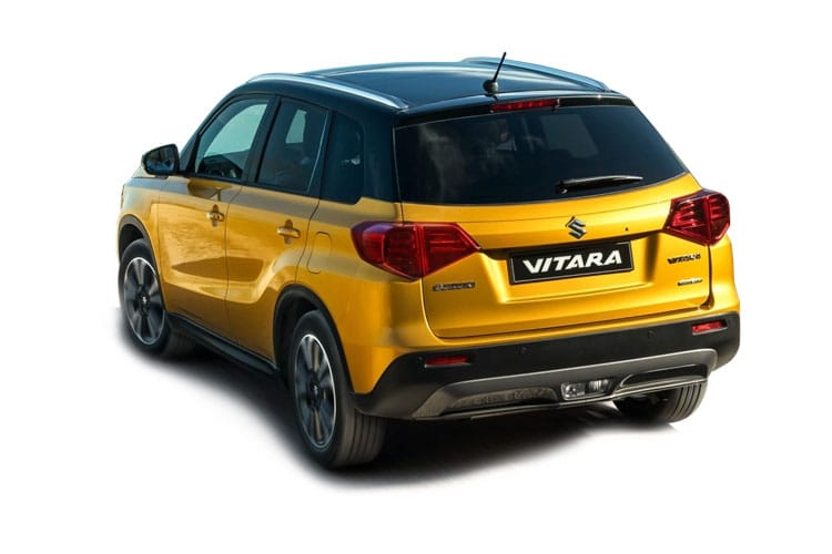 Suzuki Vitara SUV 1.4 Boosterjet 140PS SZ5 5Dr Auto [Start Stop] back view