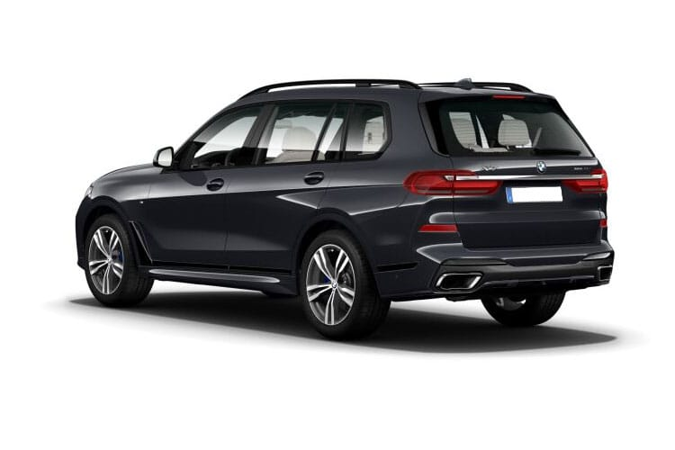 BMW X7 xDrive40 SUV 3.0 i MHT 340PS M Sport 5Dr Auto [Start Stop] [6Seat] back view