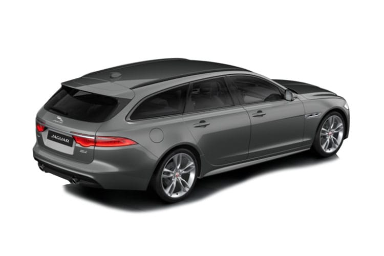 Jaguar XF Sportbrake 3.0 d V6 300PS Portfolio 5Dr Auto [Start Stop] back view