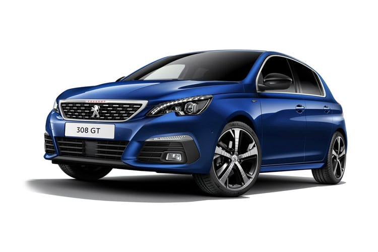 Peugeot 308 Hatch 5Dr 1.5 BlueHDi 130PS Allure 5Dr Manual [Start Stop] front view