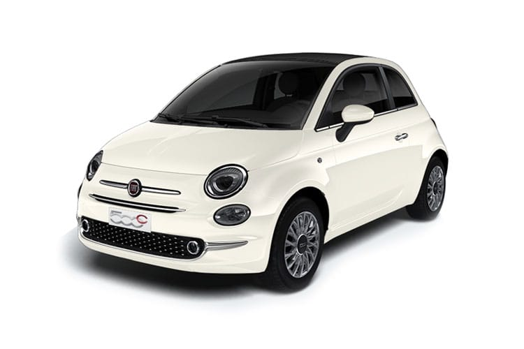 Fiat 500 C Convertible 1.0 MHEV 70PS Connect 2Dr Manual [Start Stop] front view