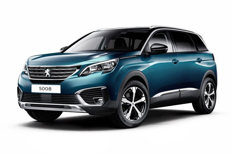 Peugeot 5008 SUV 1.2 PureTech 130PS Allure Premium 5Dr EAT8 [Start Stop] front view