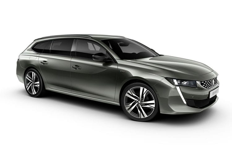 Peugeot 508 SW 5Dr HYBRID 1.6 PHEV 11.8kWh 225PS GT Premium 5Dr e-EAT [Start Stop] front view