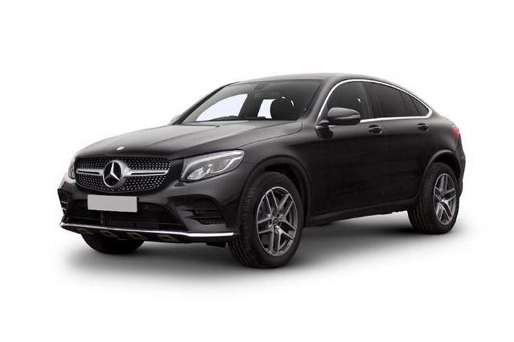 Mercedes-Benz GLC GLC300e Coupe 4MATIC 2.0 d PiH 13.5kWh 306PS AMG Line Premium Plus 5Dr G-Tronic+ [Start Stop] front view