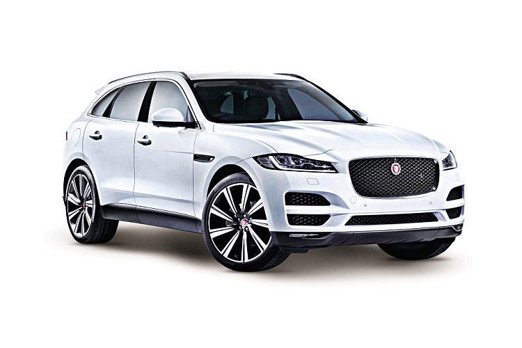Jaguar F-PACE SUV AWD 2.0 i 250PS S 5Dr Auto [Start Stop] front view