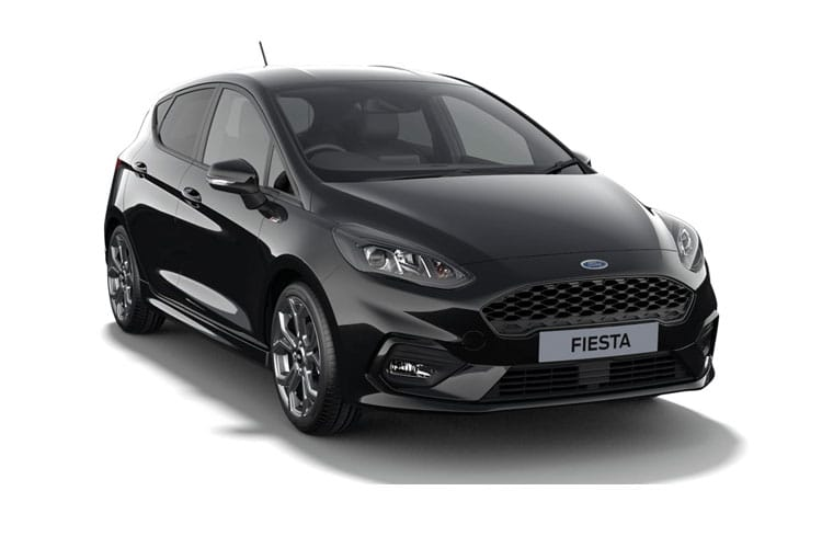 Ford Fiesta Hatch 5Dr 1.0 T EcoBoost MHEV 125PS Titanium X 5Dr Manual [Start Stop] front view