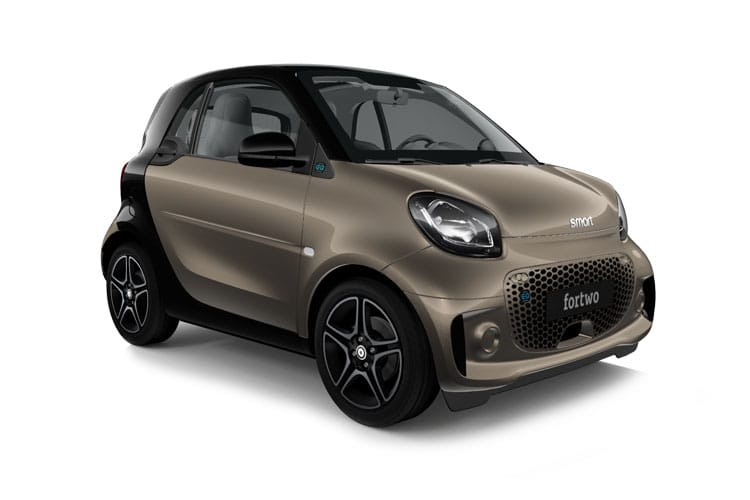 Smart ForTwo EQ ForTwo Coupe 2Dr Elec Drv 17.6kWh 60KW 82PS edition bluedawn 2Dr Auto [22kW Charger] front view