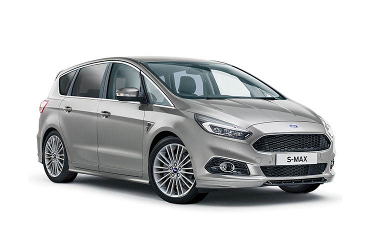 Ford S-MAX MPV 2.0 EcoBlue 190PS ST-Line 5Dr Auto [Start Stop] [Lux] front view