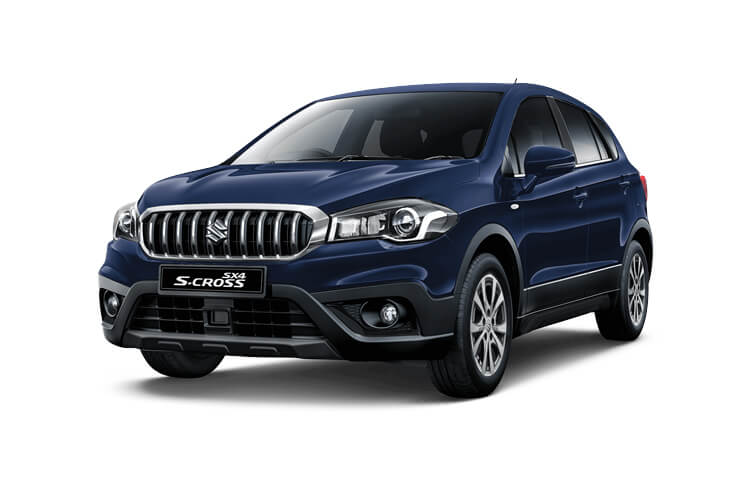 Suzuki S-Cross SUV 1.4 Boosterjet MHEV 129PS SZ-T 5Dr Manual [Start Stop] front view