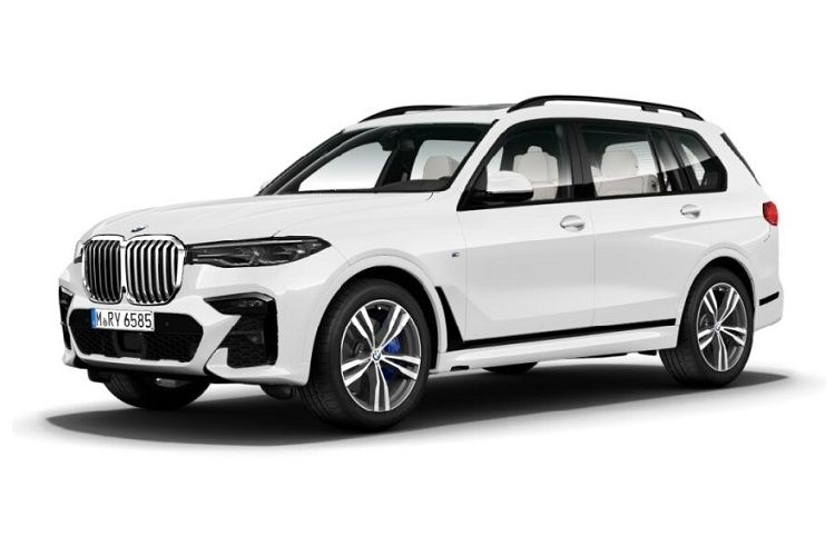BMW X7 xDrive40 SUV 3.0 i MHT 340PS M Sport 5Dr Auto [Start Stop] [6Seat] front view