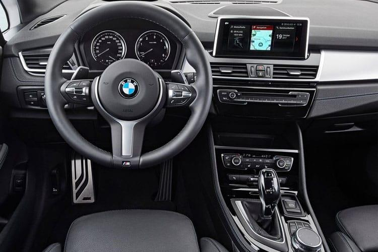 BMW 2 Series Tourer 218 Active Tourer 2.0 d 150PS Sport 5Dr Auto [Start Stop] inside view