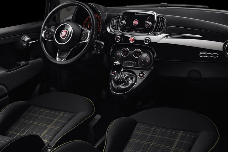 Fiat 500e Hatch 3Dr Elec 42kWh 87KW 118PS Icon 3Dr Auto inside view