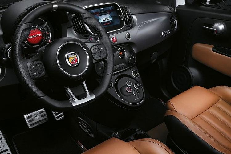 Abarth 695 Hatch 3Dr 1.4 T-Jet 180PS 70th 3Dr Manual inside view