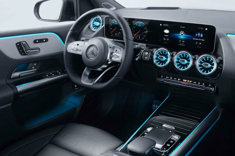 Mercedes-Benz B Class B200 MPV 5Dr 2.0 d 150PS Exclusive Edition 5Dr 8G-DCT [Start Stop] inside view