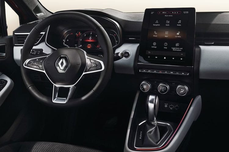 Renault Clio Hatch 5Dr 1.5 Blue dCi 85PS RS Line 5Dr Manual [Start Stop] inside view