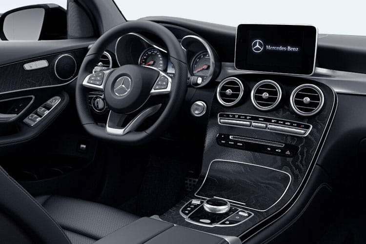 Mercedes-Benz GLC GLC300e Coupe 4MATIC 2.0 d PiH 13.5kWh 306PS AMG Line Premium Plus 5Dr G-Tronic+ [Start Stop] inside view