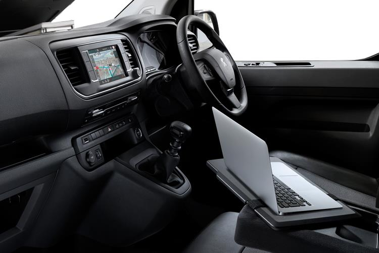 Peugeot Expert Compact 1000Kg 1.5 BlueHDi FWD 100PS S Van Manual [Start Stop] inside view