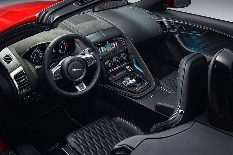 Jaguar F-TYPE Convertible AWD 5.0 V8 575PS Heritage 60 Edition 2Dr Auto [Start Stop] inside view