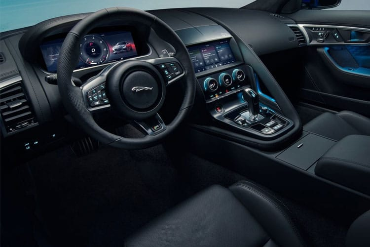 Jaguar F-TYPE Coupe AWD 5.0 V8 450PS First Edition 2Dr Auto [Start Stop] inside view