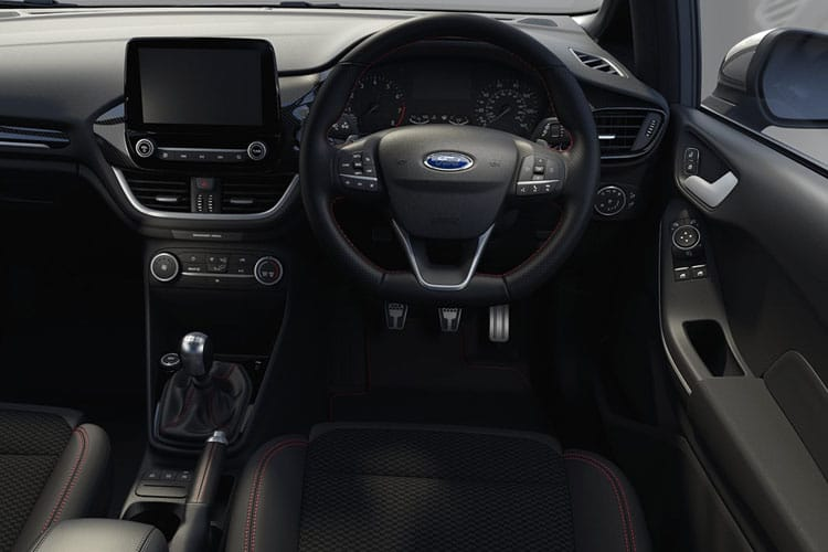 Ford Fiesta Hatch 5Dr 1.0 T EcoBoost MHEV 125PS Titanium X 5Dr Manual [Start Stop] inside view