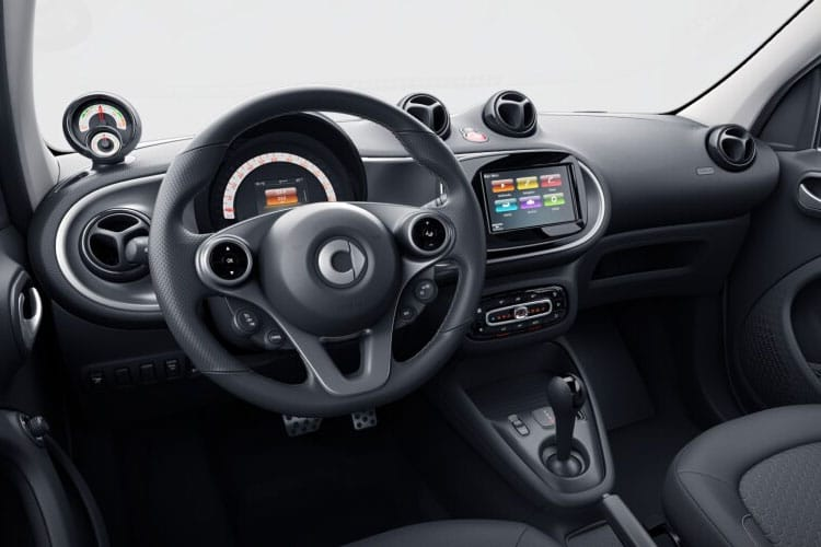 Smart ForFour EQ ForFour Hatch 5Dr Elec Drv 17.6kWh 60KW 82PS Premium 5Dr Auto [22kW Charger] inside view