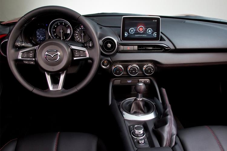 Mazda MX-5 RF 2.0 SKYACTIV-G 184PS Sport Tech 2Dr Auto [Start Stop] inside view