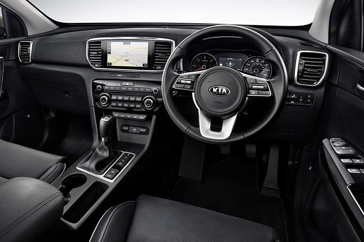 Kia Sportage SUV 2wd 1.6 CRDi MHEV 134PS 2 5Dr Manual [Start Stop] inside view
