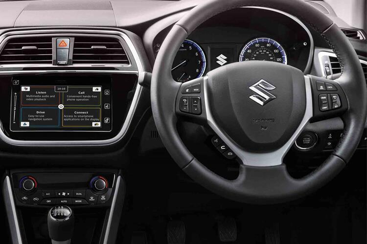 Suzuki S-Cross SUV 1.4 Boosterjet MHEV 129PS SZ-T 5Dr Manual [Start Stop] inside view