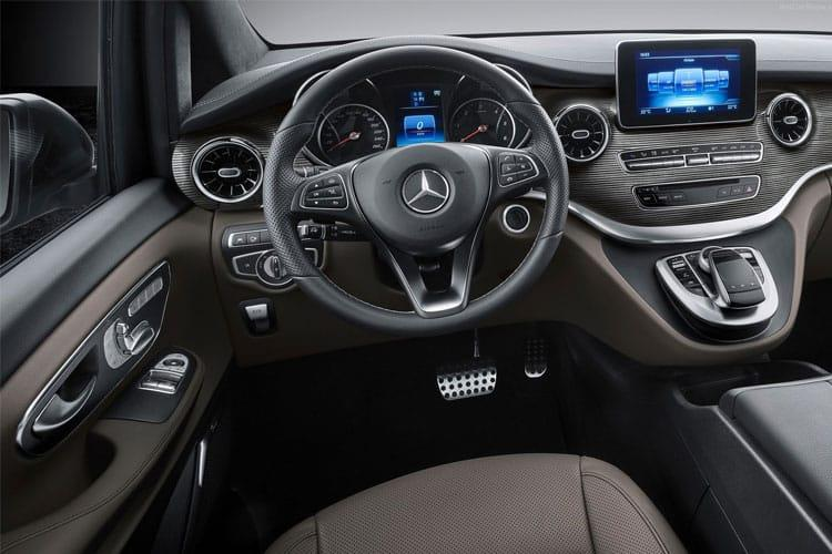 Mercedes-Benz V Class V220 5Dr 2.0 d 163PS AMG Line 5Dr G-Tronic+ [Start Stop] [7Seat] inside view