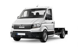 MAN TGE Chassis Cab 3.180 3.5t Long 4x4 2.0 d BiTurbo 4WD 177PS  Chassis Double Cab Auto [Start Stop]