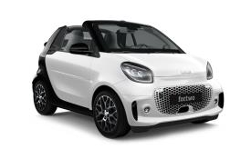 Smart ForTwo Convertible EQ ForTwo Cabriolet 2Dr Elec Drv 17.6kWh 60KW 82PS Exclusive 2Dr Auto [22kW Charger]